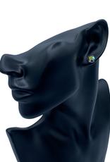Mariana Boucles d'oreilles Clous Mariana E-1440 Bleu Multi 202AB RG2