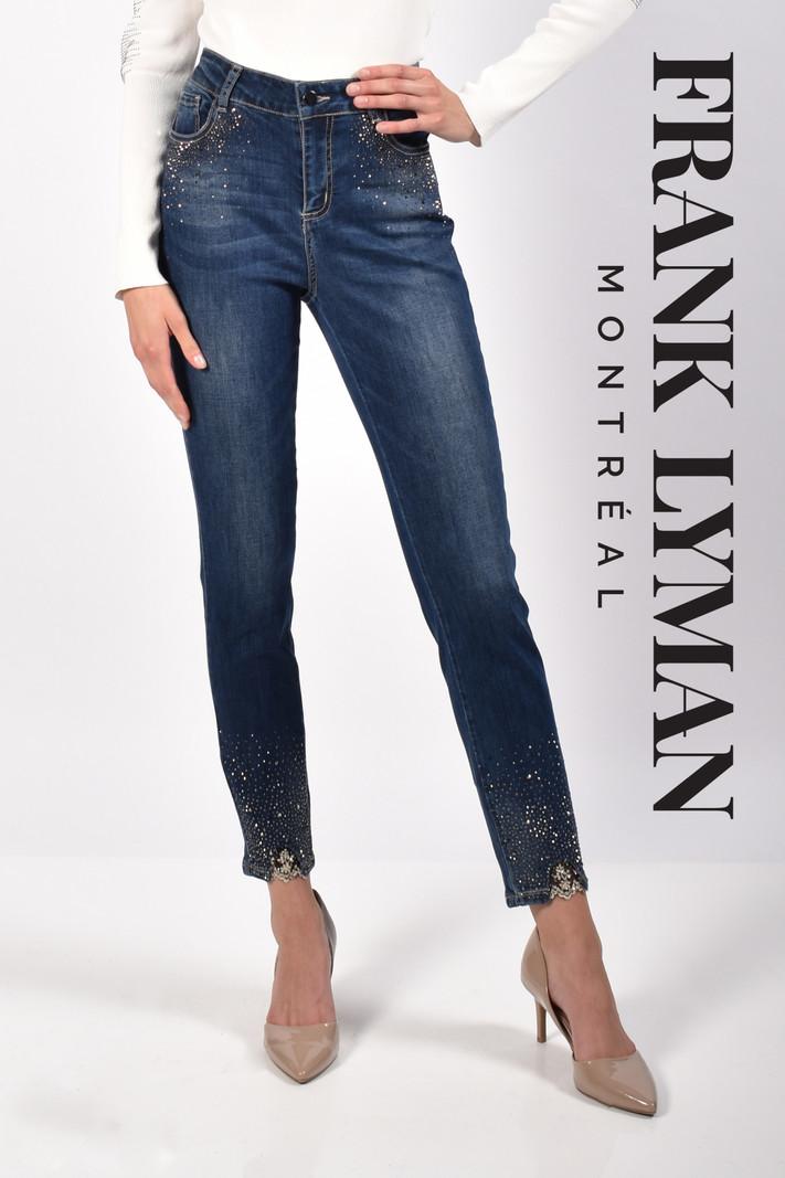 Frank Lyman Jeans à Détail Clouté et Brodé Frank Lyman 216113U