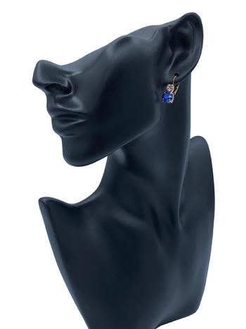 Mariana Boucles d'oreilles Mariana avec pierres E-1190 Royal/Gold 2142-RG6