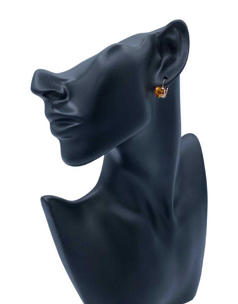 Mariana Boucles d'oreilles Mariana E-1440-CLIP avec pierres Rust/Gold 203RG6