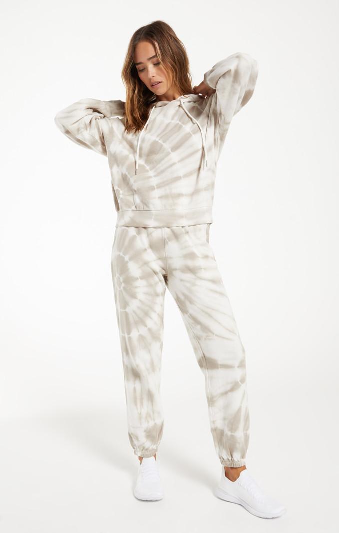 Z Supply Pantalon Jogger Tie Dye en Spirale Z Supply Emery ZP211260