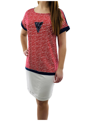 Valzère Robe T-Shirt Style Marin Valzère R-1829