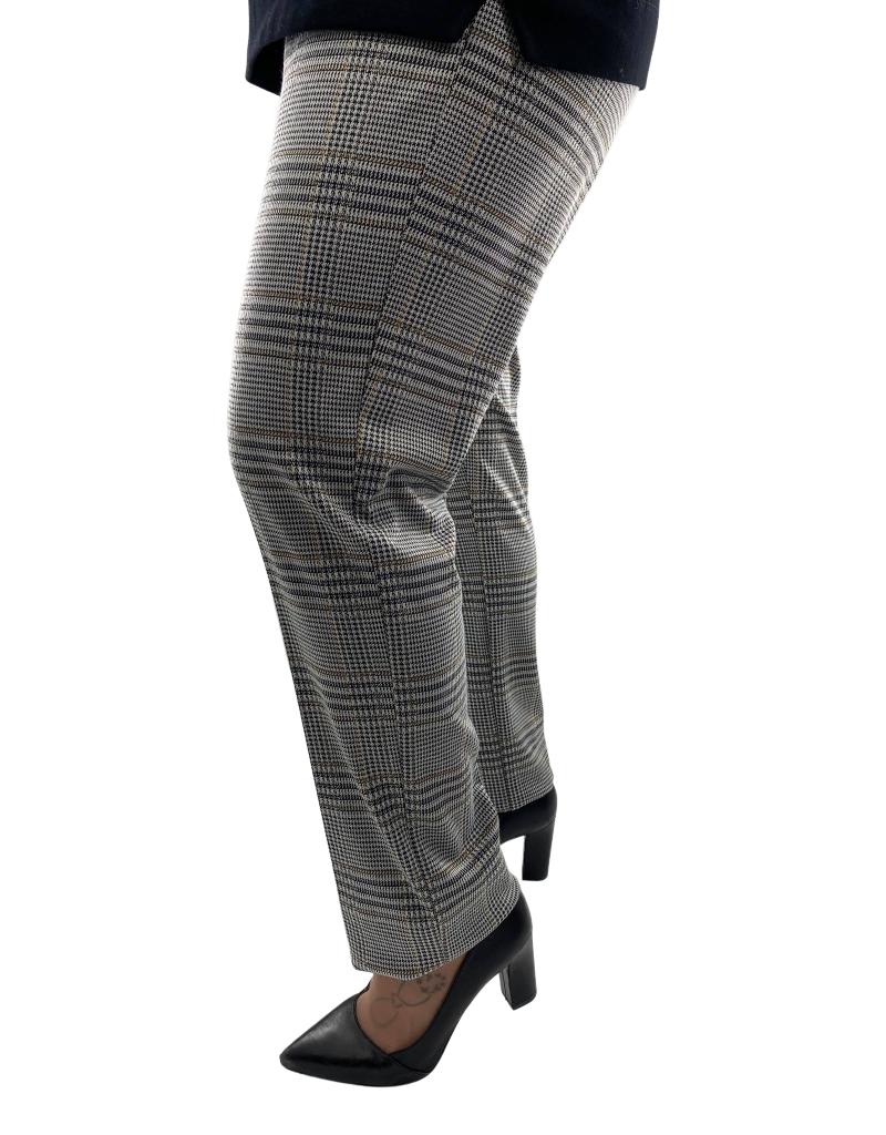 Soft Works Pantalon Droit Pull On à Carreaux Soft Works 25211