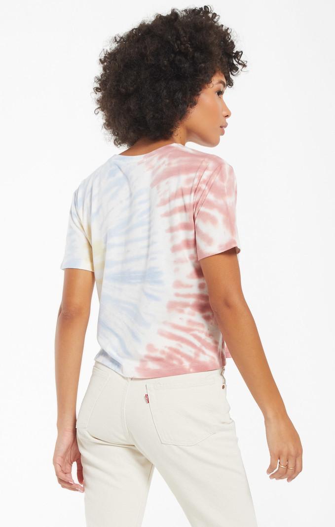 Z Supply T-Shirt Tie Dye Off Set Z Supply ZT211317 Sol