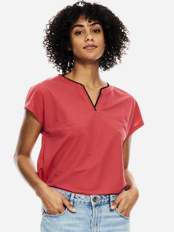 Garcia T-Shirt Col en V Garcia B10002
