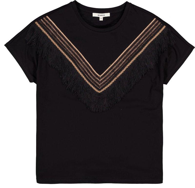 Garcia T-Shirt à Franges Garcia B10003