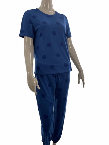 Claudel Pyjama 2pcs Jogger/T-Shirt Motif Gros Pois Comfort & Co. BA104290