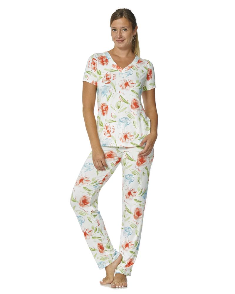 Arianne Pantalon à Imprimé Floral Blossom Arianne 4192