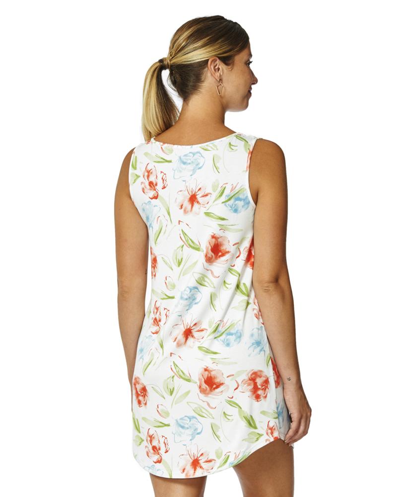 Arianne Robe de Nuit Courte à Imprimé Floral Blossom Arianne 8191
