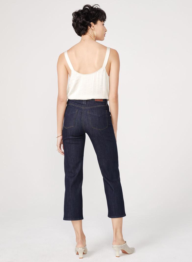 Unpublished Jeans Taille Haute à Jambe Droite Unpublished Bree