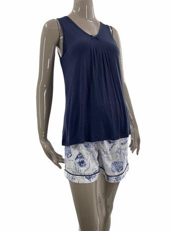 Patricia Lingerie Pyjama 2pcs Boxer/Camisole Motif Floral Patricia 943-4
