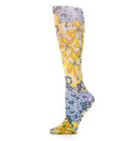 Bas Cheville à Imprimé Celeste Stein Gina's Flowers 2208SS One Size