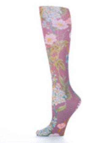 Celeste Stein Bas Cheville à Imprimé Celeste Stein Muted Violet Marona 2213SS One Size