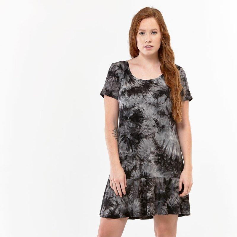 Zaän Robe T-Shirt à Volants Tie Dye ZAÄN 9457