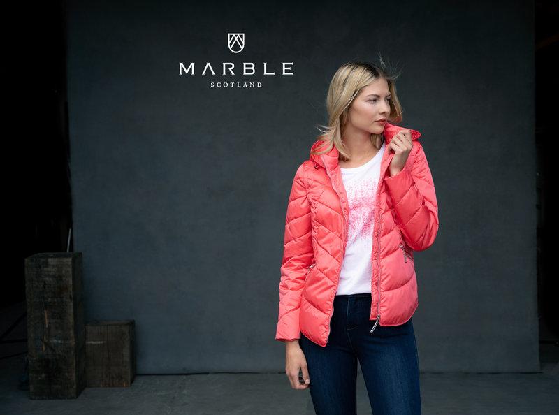 MARBLE Manteau à Capuche et Manches Amovibles MARBLE 6136