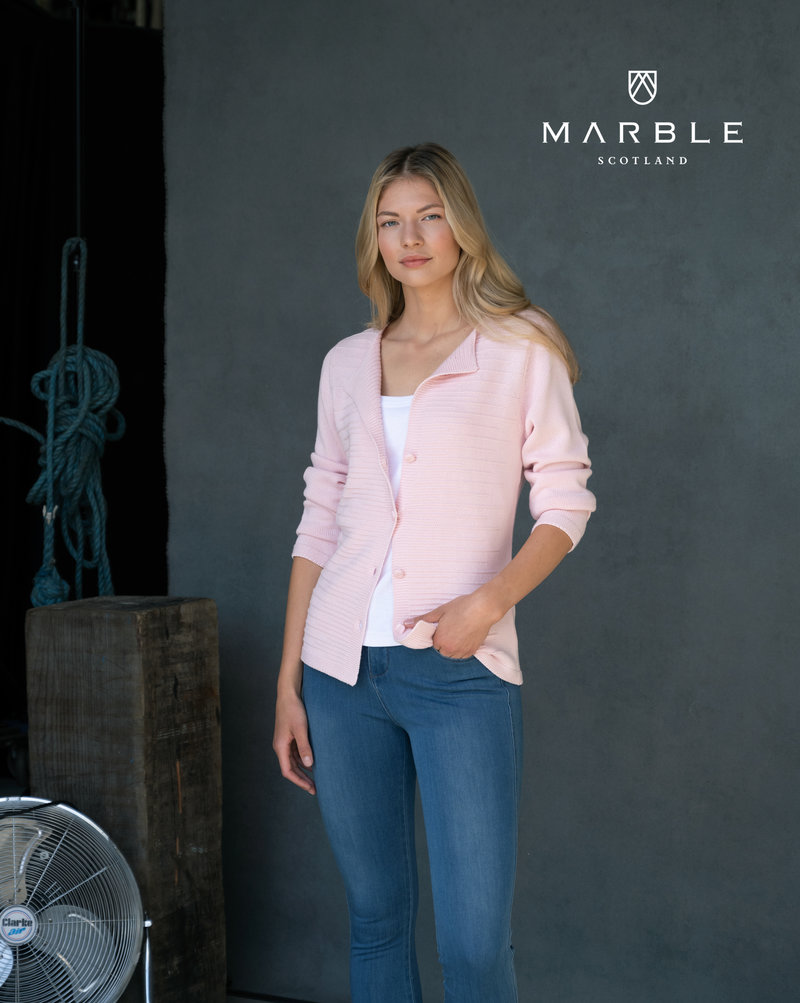 MARBLE Cardigan Boutonné à Maille Marble 6122