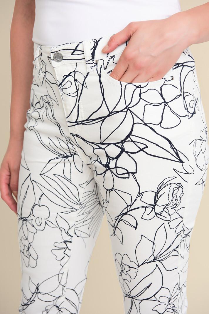 Joseph Ribkoff Jeans à Motif Floral Joseph Ribkoff 211978