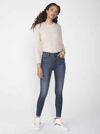 Unpublished Jeans Skinny à Taille Haute Unpublished Olivia