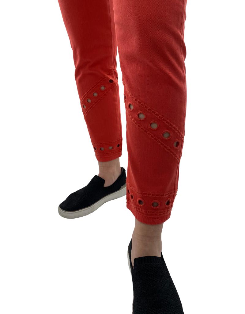 Coco Y Club Jeans Capri à Découpes CYC 211-1953