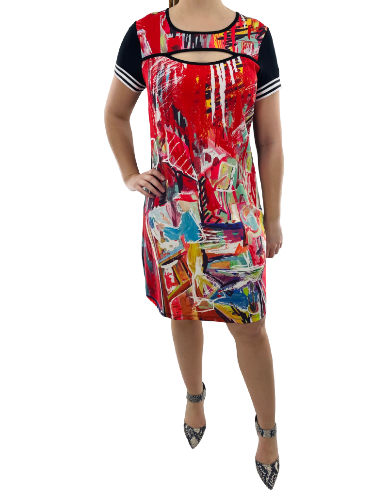 Maloka Robe à Imprimé Maloka Nyree