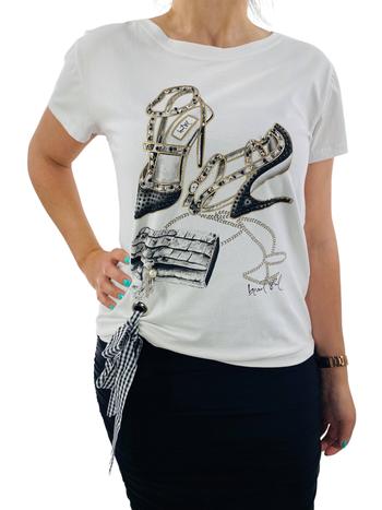 Leo & Ugo T-Shirt à Col Rond Beautiful Leo & Ugo TEK636