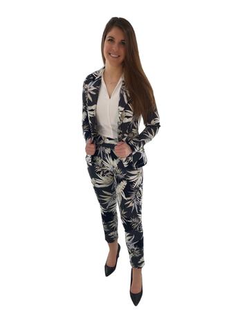 Artex Fashions Pantalon à Imprimé Palmiers Artex 39-9195