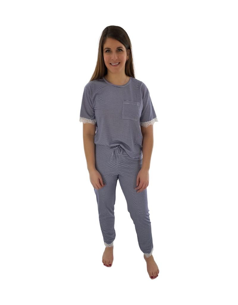 Comfort & Co. Pyjama 2pcs Pantalon/T-Shirt Comfort & Co. LI103090