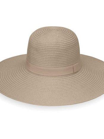 Chapeau Paquetable et Ajustable 100% Polyester UPF 50+ Wallaroo Aria