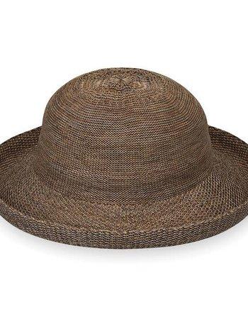 Chapeau Paquetable et Ajustable 100% Poly Straw UPF 50+ Wallaroo Petite Victoria