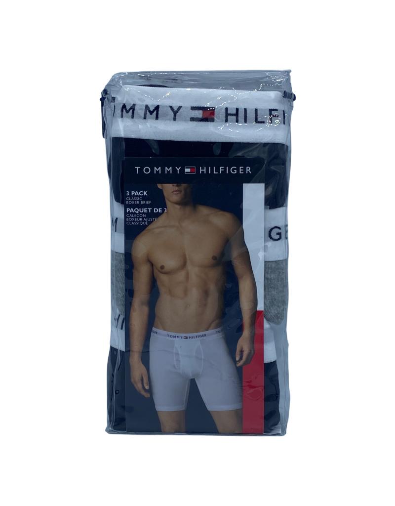 Boxer Longues Ajustée Tommy Hillfiger Paquet de 3 en Coton HCTE001