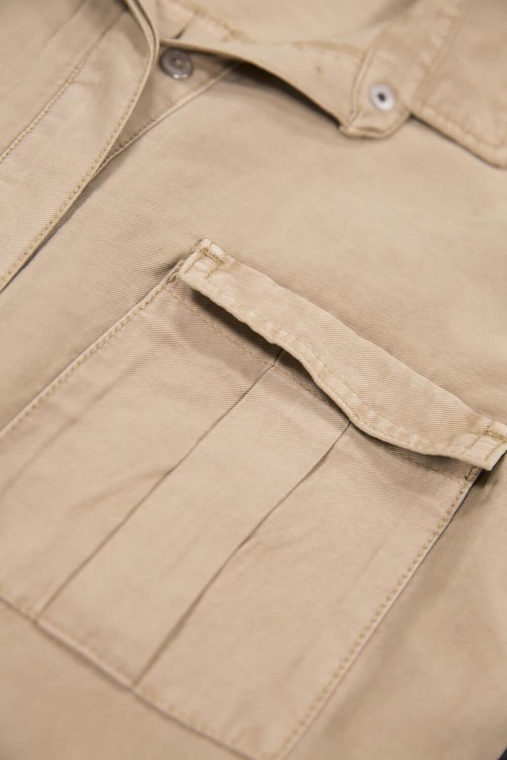 Garcia Jumpsuit Style Militaire à Manches 3/4 Garcia B10114