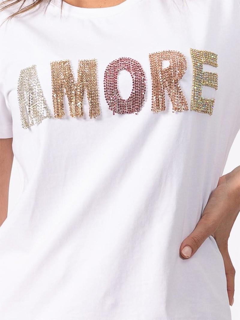 Coco Y Club T-Shirt à Col Rond AMORE CYC 211-2082