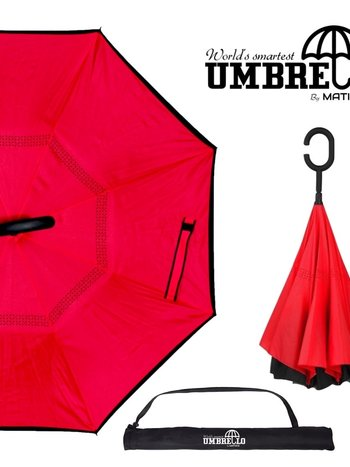 Parapluie Rouge Umbrello PAR-RGE