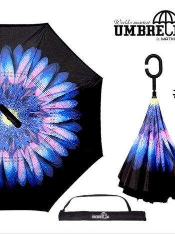 Parapluie Bleu/Rose Umbrello PAR-FLE