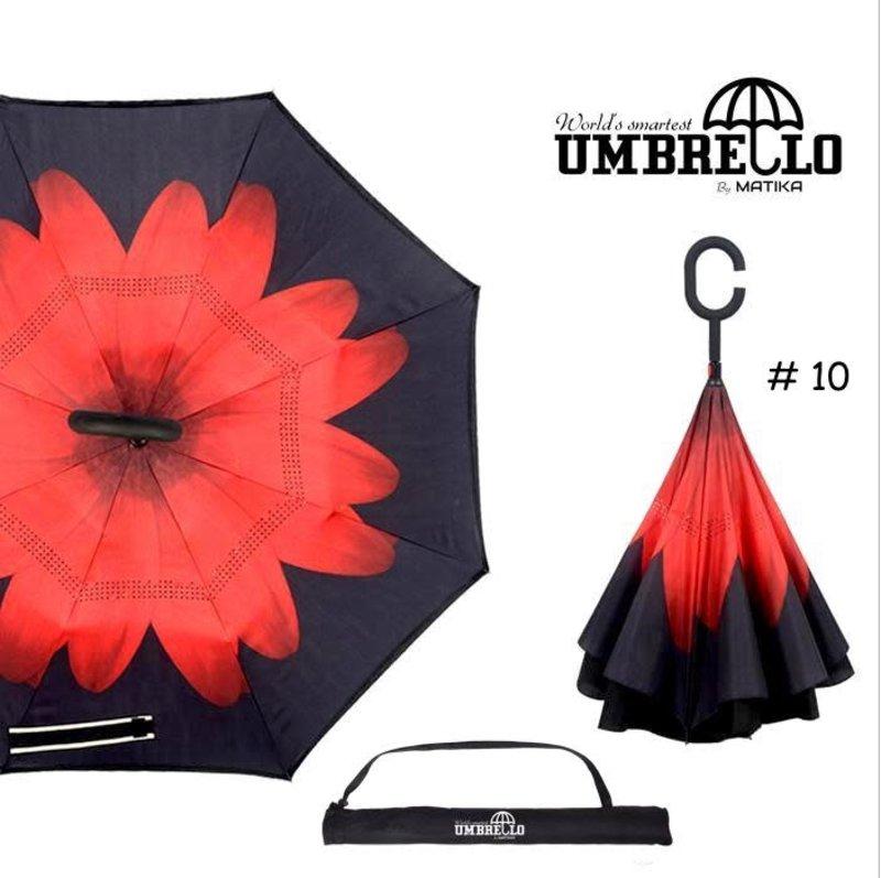 Parapluie Fleur Rouge Umbrello PAR-FLO