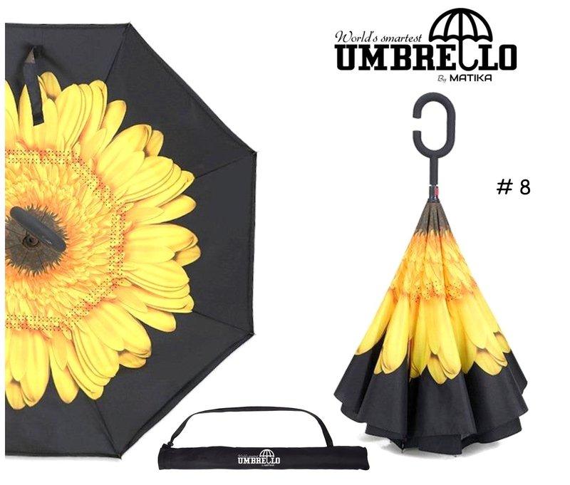 Parapluie Fleur Jaune Tournesol Umbrello PAR-MAR