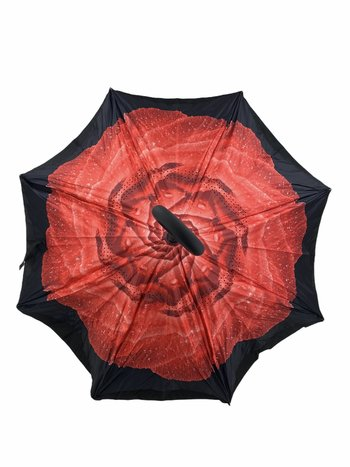 Parapluie Rose Rouge Umbrello PAR-FRR