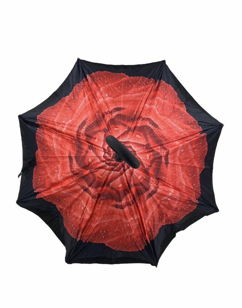 Parapluie Rose Rouge Umbrello PAR-FRR