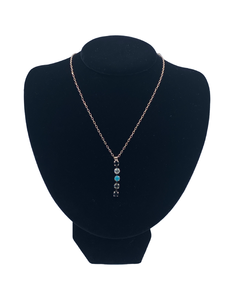 Mariana Collier Mariana N-5425 Pendentif Bleu/Noir 1081 RG