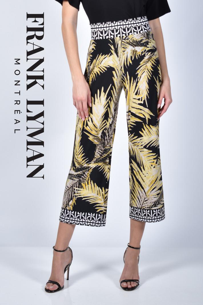 Frank Lyman Pantalon 7/8 Motif Tropical Frank Lyman 211309