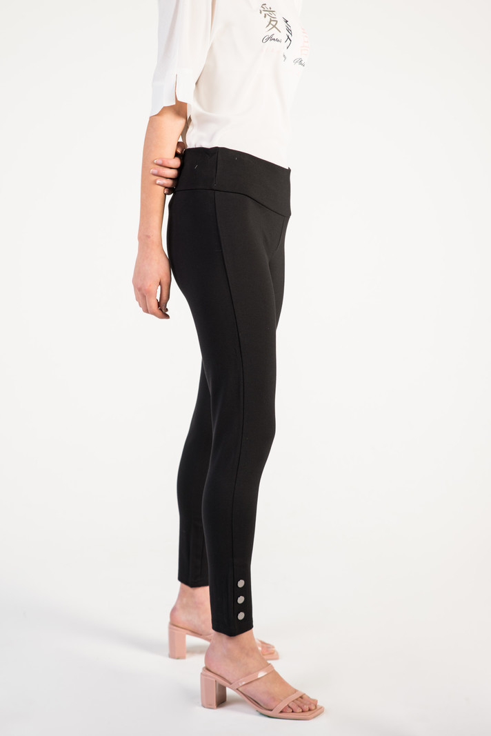 Airoldi Couture Legging 3 Boutons Airoldi Couture P21S7066