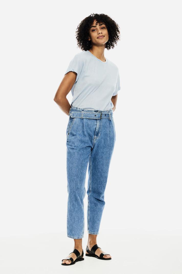 Garcia Jeans Ceinture à la Taille Coupe Ample Garcia GS100310