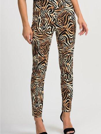 Joseph Ribkoff Pantalon Imprimé Animal  Joseph Ribkoff Style 201022