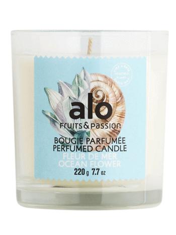 Fruits et Passion Bougie Parfumée alo Fleur de Mer 220g