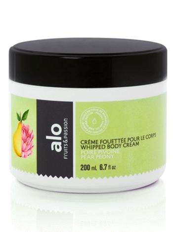 Fruits et Passion Crème Fouettée pour le Corps alo Poire Pivoine 200ml