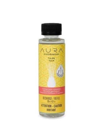 Fruits et Passion Parfum pour Ensemble Décoratif Parfumant AURA Tulipe 125ml