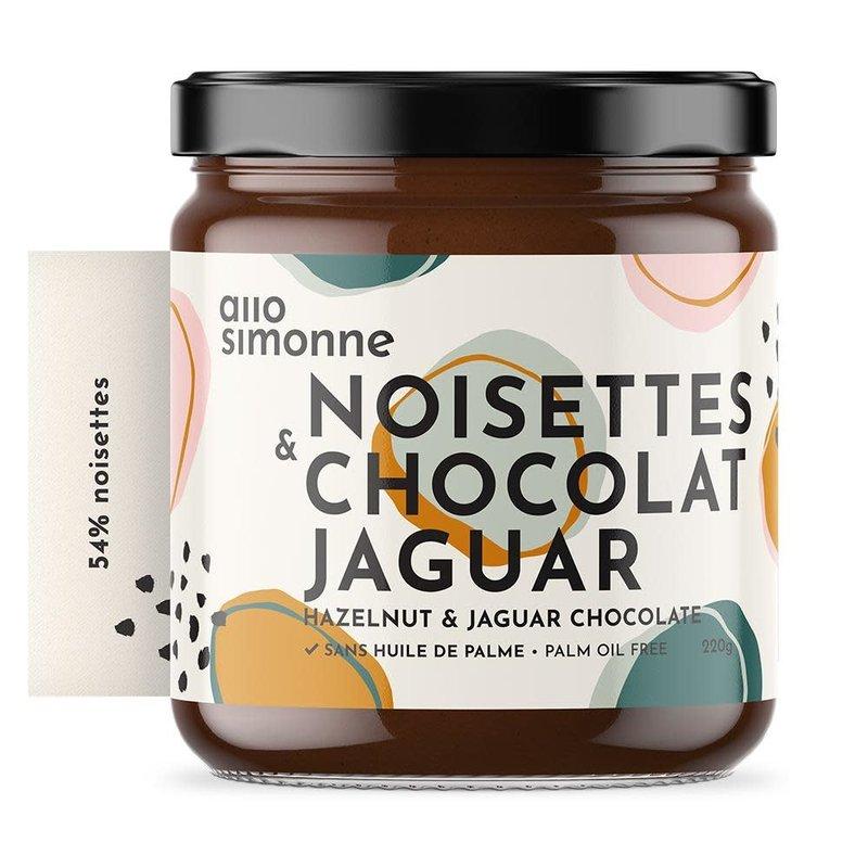allo simonne Tartinade Noisettes & Chocolat Jaguar allo simonne