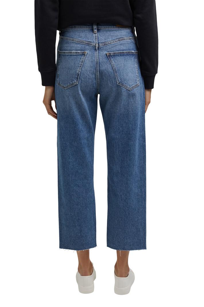 Esprit Jeans Cropped Taille Haute Dad Fit Esprit 071EE1B301