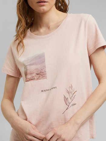 Esprit T-Shirt à Imprimé Esprit 071EE1K333