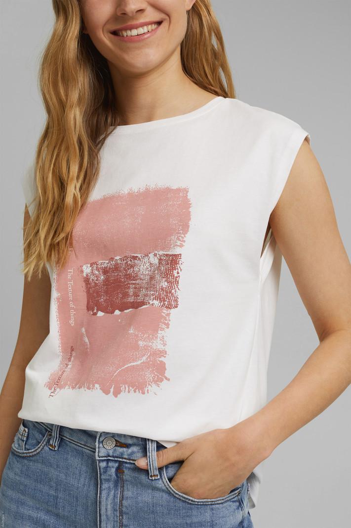 Esprit T-Shirt à Imprimé Esprit 071CC1K317